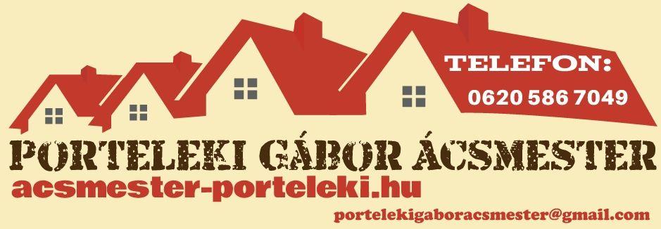 porteleki tető